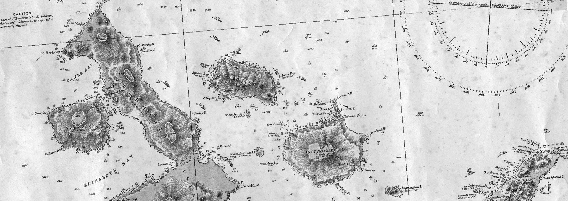 mapas de galapagos